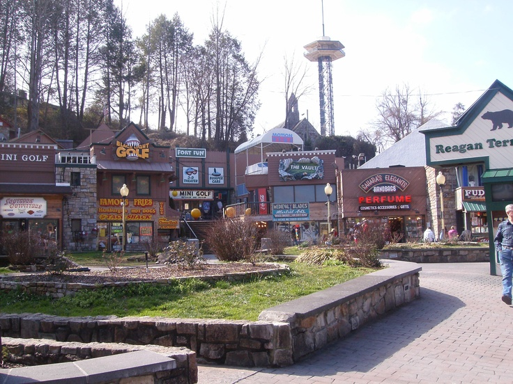gatlinburg hotels with strip view has