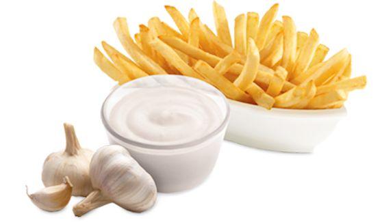 DIY Garlic sauce : Add 1 t garlic powder to 5 T yogurt!