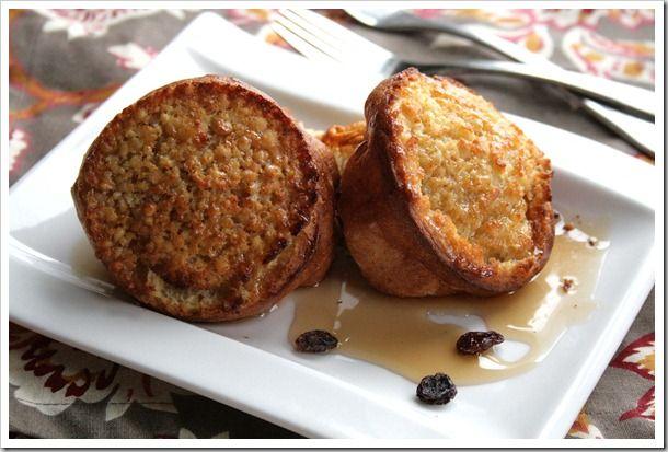 oatmeal-raisin-popover | BREAKFAST LOVER! | Pinterest