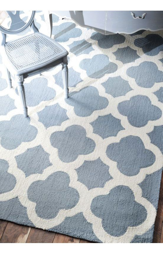 rugs usa homespun moroccan trellis blue rug rugs usa