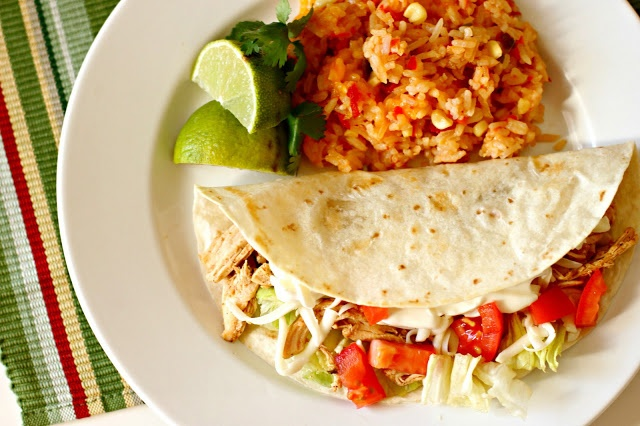 ... Another Day in Paradise: Slow Cooker Saturday: Shredded Chicken Tacos