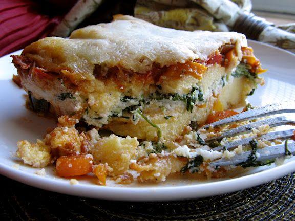 Polenta Lasagna | recipes | Pinterest