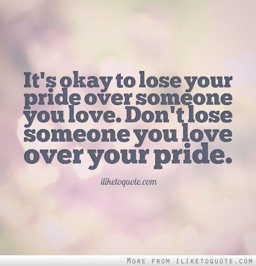 Quotes About Pride Quotesgram