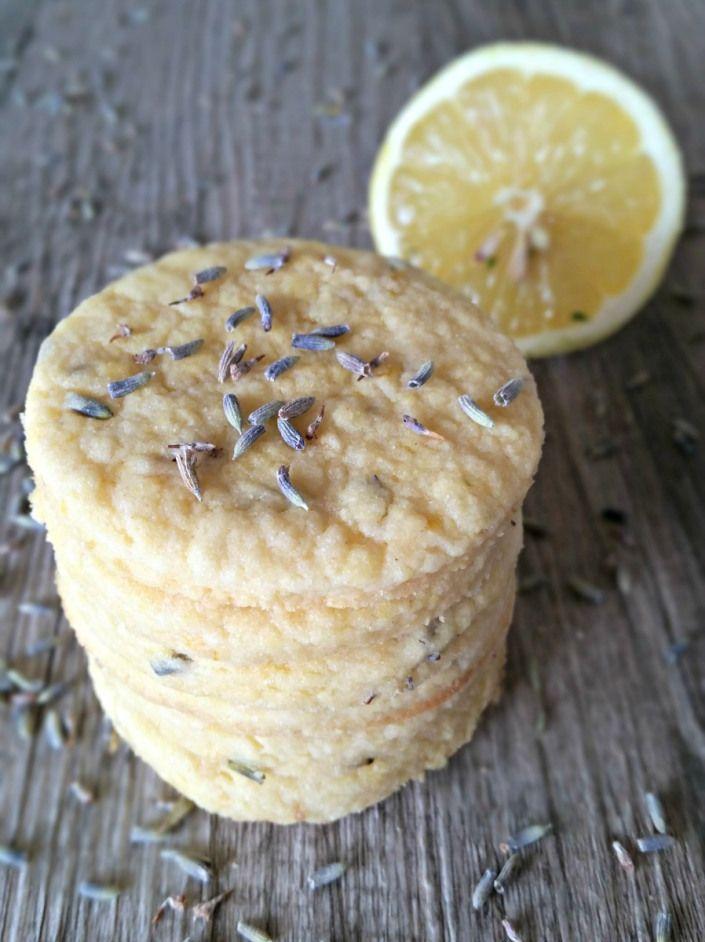 Lavender & Lemon Shortbread Cookies | Cookies | Pinterest