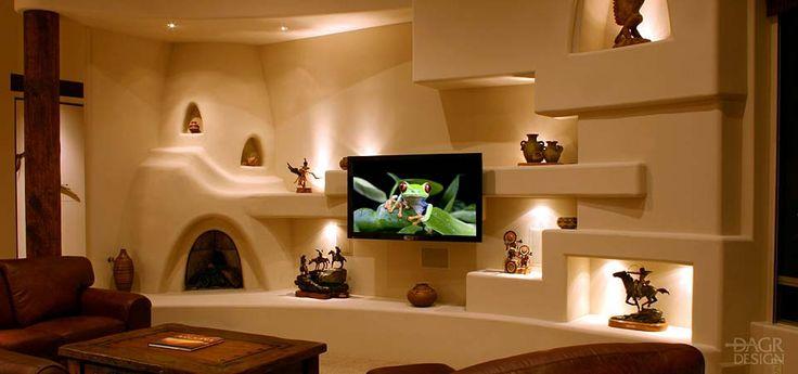Unique home entertaining ideas custom home entertainment for Media wall design phoenix