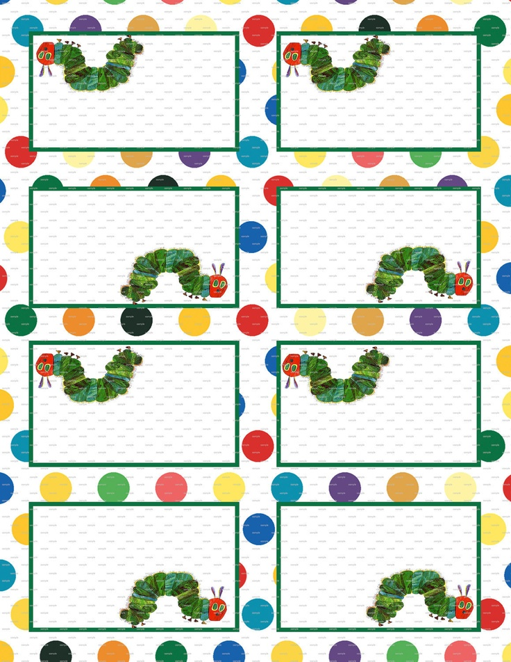 Very Hungry Caterpillar Decoration Room