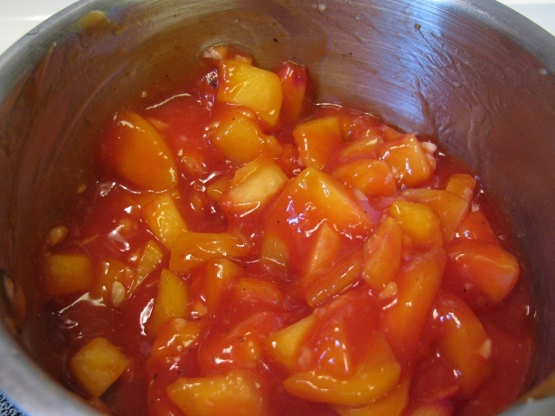 Gwyneth Paltrow's Peach BBQ sauce (made with easy to find ingredients ...