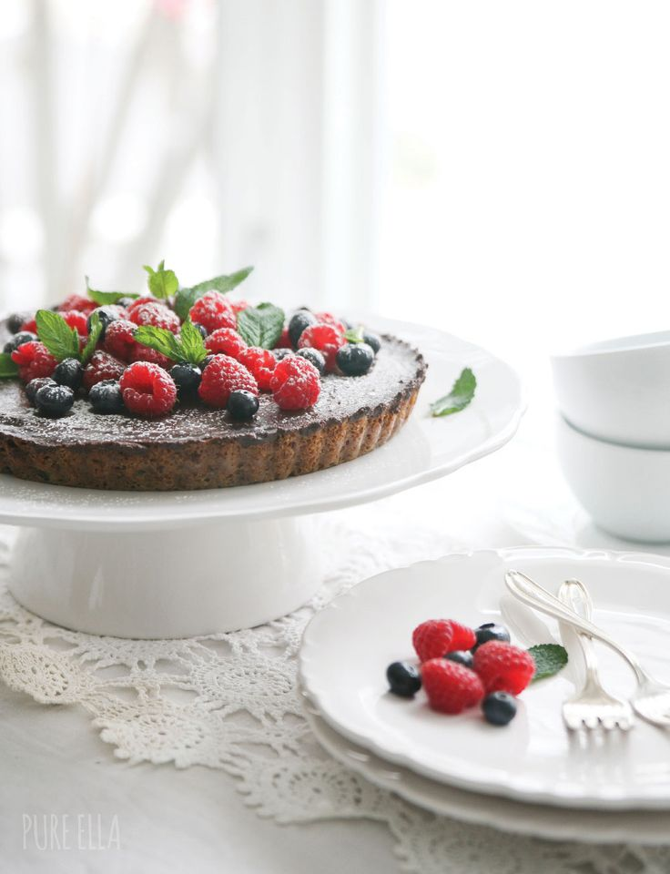 Chocolate Chip Cookie Chocolate Tart | Food styling: Cakes, Tarts & P ...