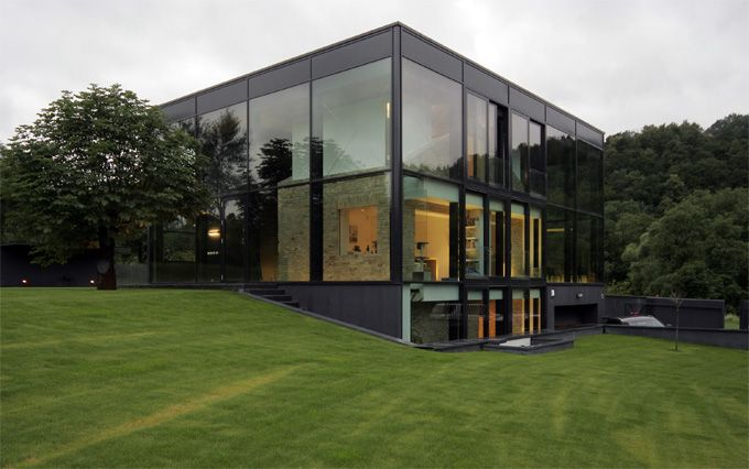 Yellow Brick House, Vilnius, Lithuania by  G. Natkevicius & Partners.