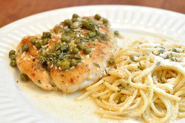 lemon chicken breasts with capers recipes dishmaps lemon chicken
