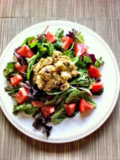 "Mediterranean ""Tuna"" Salad 