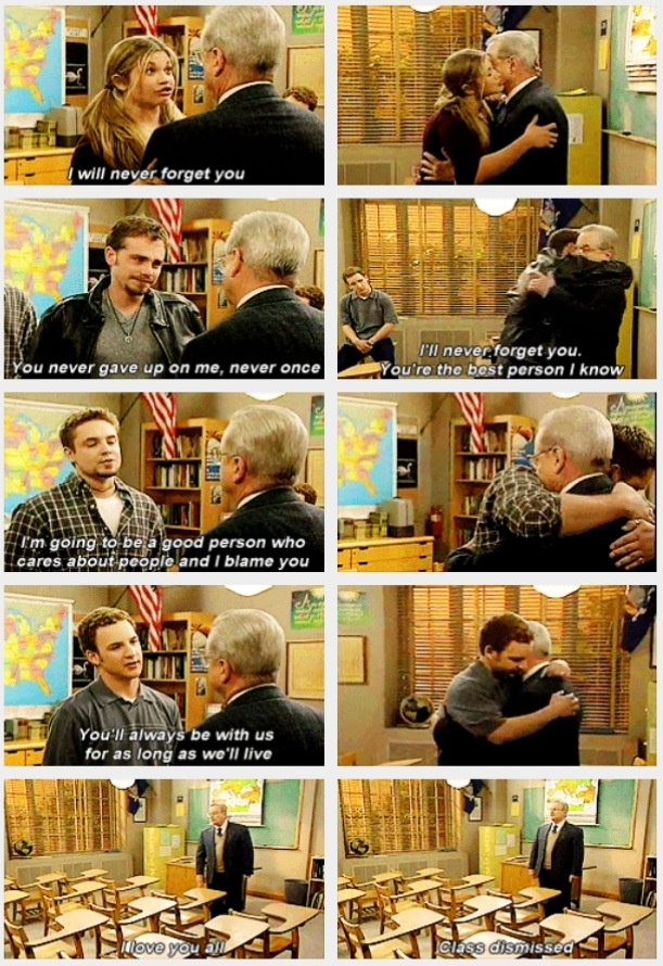 "Boy Meets World, Goodbyes to Mr. Feeny -- aka ""how to make me an emotional wreck in 2 seconds"""