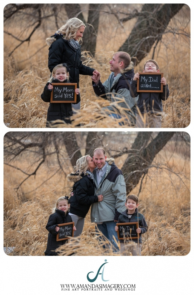 Engagement Photos With Children