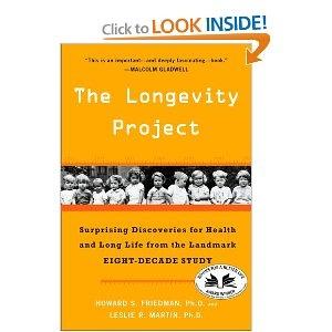 The Longevity Project, by Howard Friedman