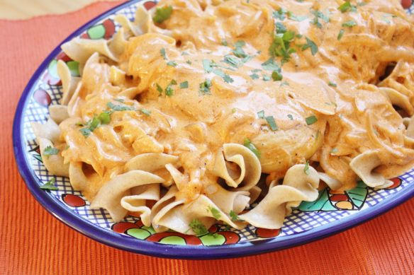 Hungarian chicken paprikash | Food | Pinterest
