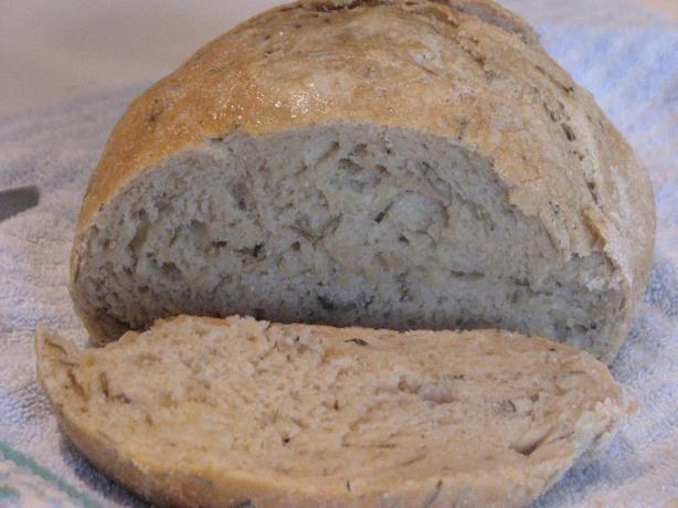 Rosemary-Lemon No-Knead Bread | Recipe