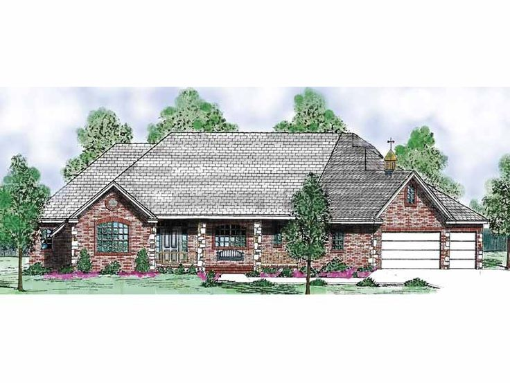 Eplans country house plan four bedroom country 2266 for Eplans house plans