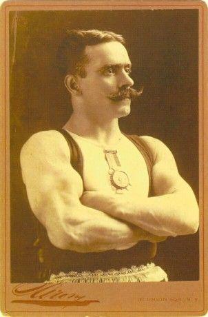 Vintage Strong Man 8