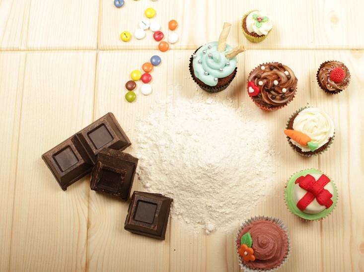 Cupcakes bajo la lente profesional de Edwin Pérez!