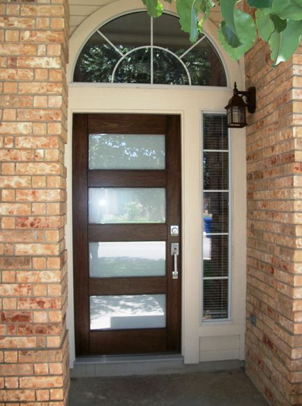 Pin by the front door company on modern wood door for Front door company
