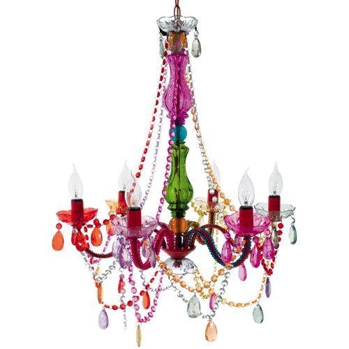 Gypsy Chandelier Multicolored - $65.00