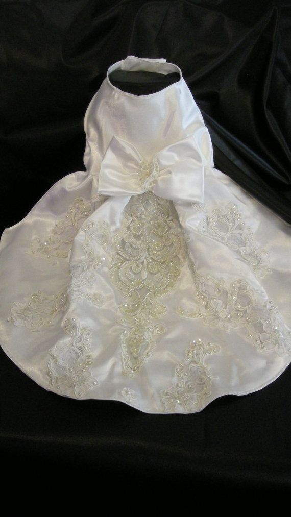 Small Dog Wedding Dress Last One Like This