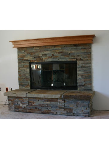 Update To Our Brick Fireplace Mantel Me Pinterest