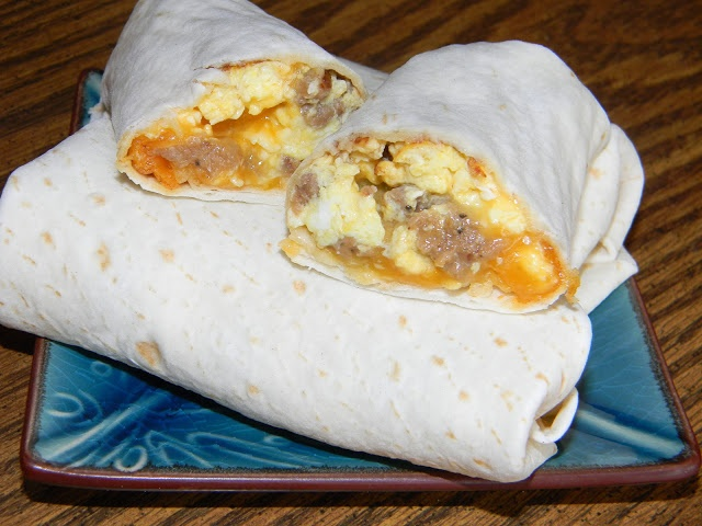 Breakfast Burritos | Favorite Recipes | Pinterest