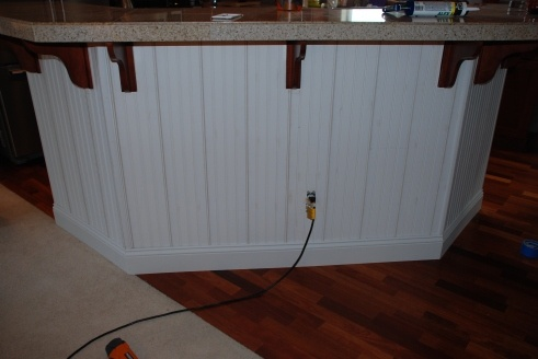 Board And Batten Beadboard Kitchen Island Images Frompo