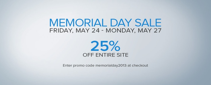 memorial weekend sales