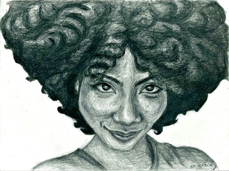 Natural Hair Portr...