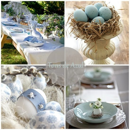 Easter table easter decorations pinterest for Easter decorations for the home pinterest