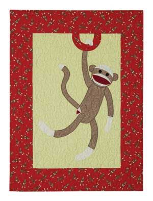 Little Monkey Baby Quilt Pattern - Mill House Quilts