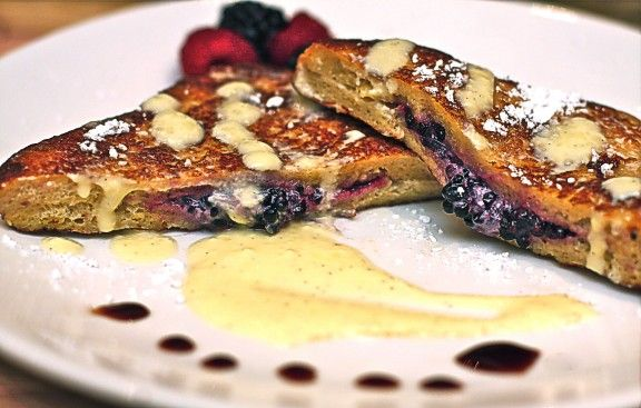 Mascarpone-Stuffed French Toast With Blackberries Recipes — Dishmaps