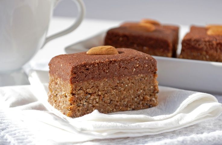 no-bake Fudge topped gingerbread squares   Healthy snacks/Fun foods ...