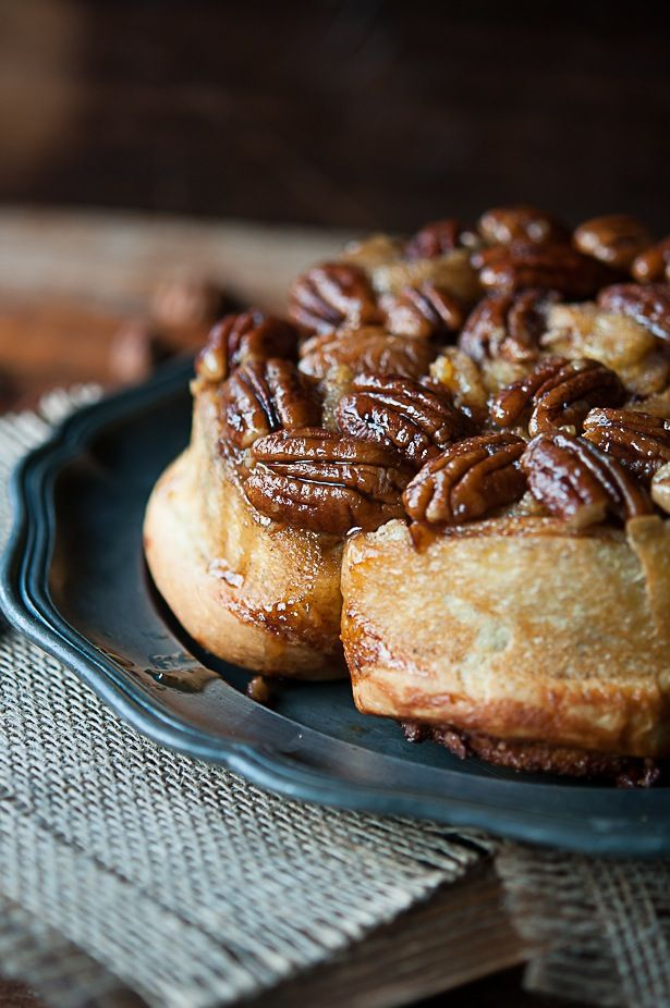 Cinnamon Pecan Sticky Buns recipe from The Bouchon Bakery Cookbook