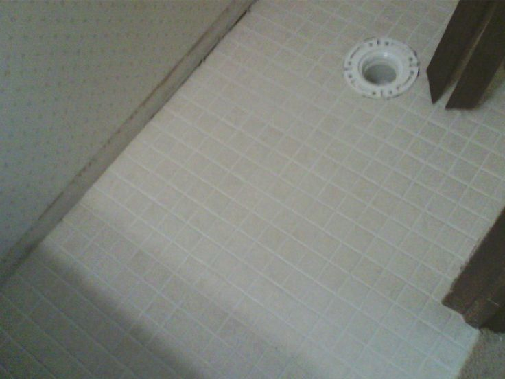 Retile Bathroom Floor Image