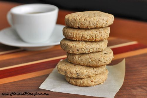 Hazelnut Espresso cookies... Because everyone needs another excuse to ...