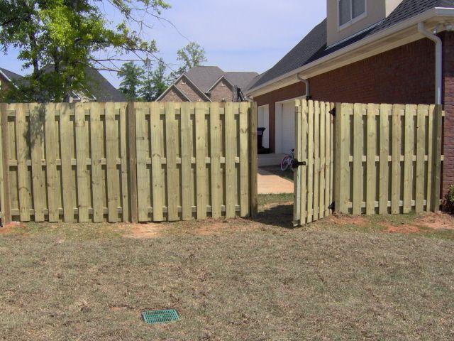 Shadowbox fence gate fixnitup pinterest