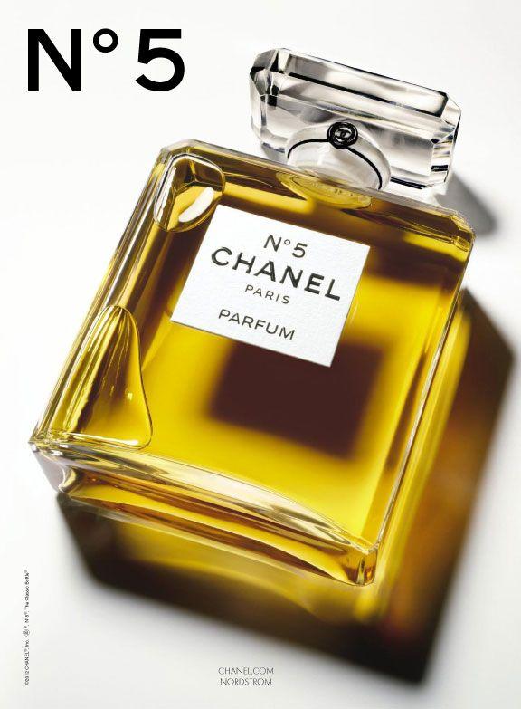 Chanel No. 5 Perfume Print Ad