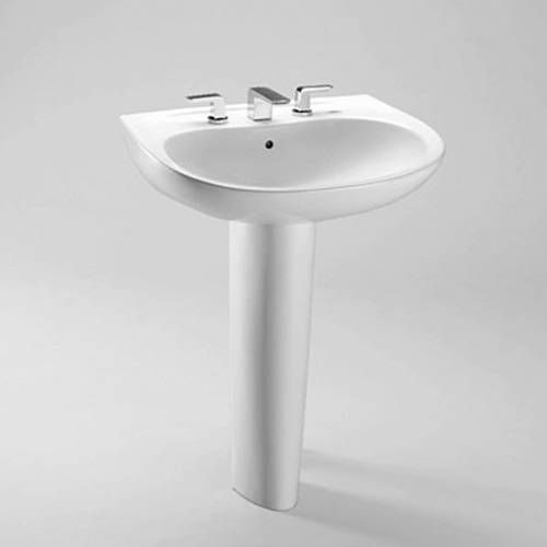 TOTO LPT242.8G Prominence Pedestal Bathroom Sink Sink with 8