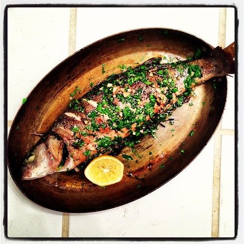 Whole roasted trout. | Fancy Food | Pinterest