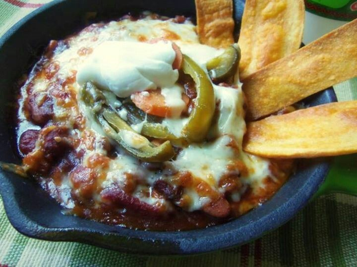 Spicy Vegetarian Chili | Soups,Chili,Chowders & Stews | Pinterest