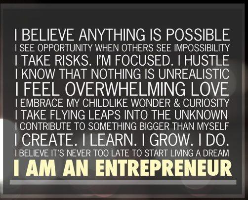 am an entrepreneurI Am An Entrepreneur Quotes