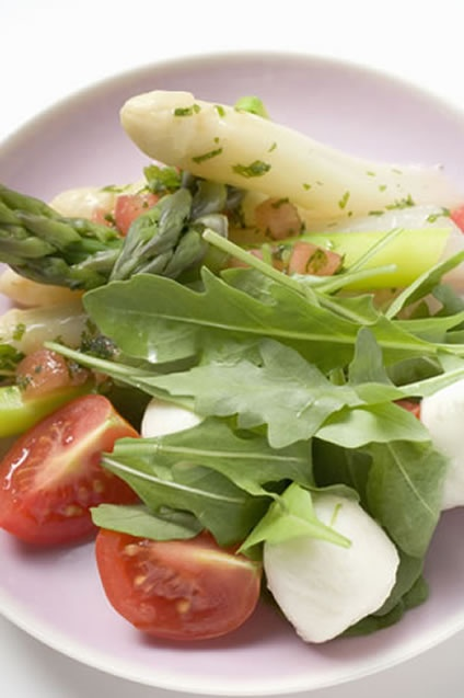 The vinaigrette contains sherry vinegar, lemon, shallots, and mustard ...