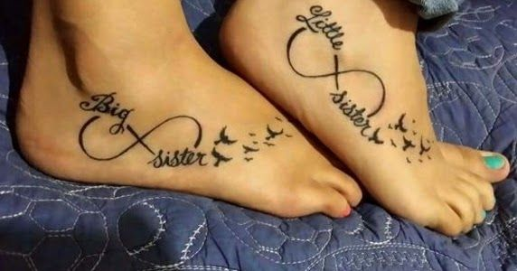 photo 21 Charming Sister Tattoo Ideas