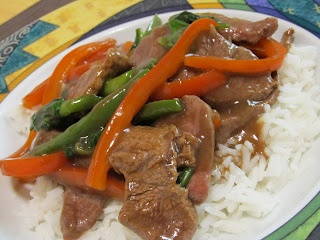Korean Beef Stir-Fry | Beef Recipes | Pinterest
