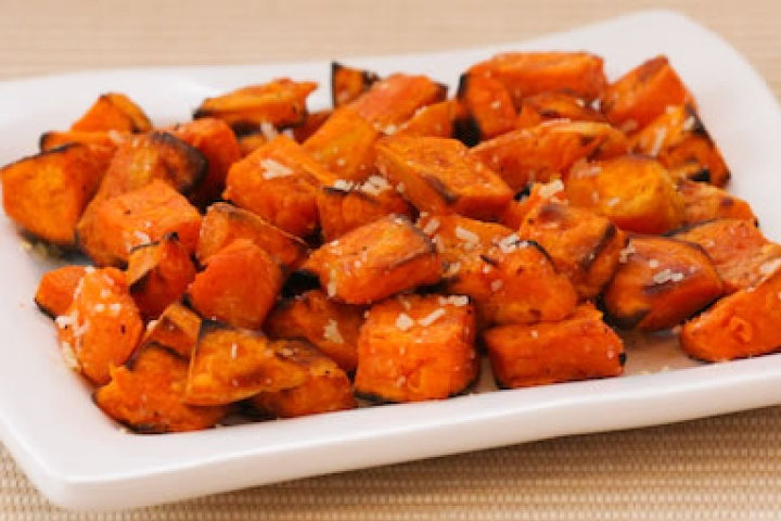 oven roasted sweet potatoes | Food & Drink | Pinterest
