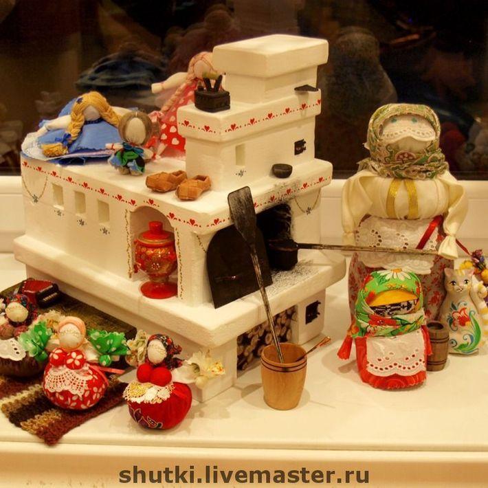 Печка для кукольного домика своими руками 57
