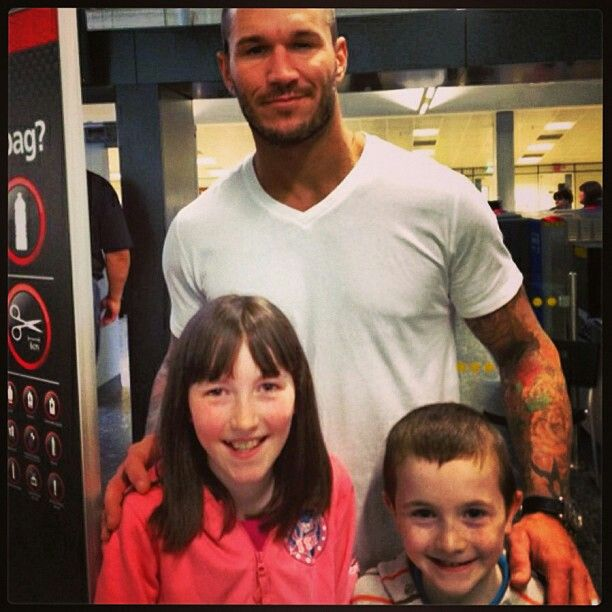 randy orton with fans